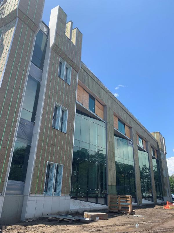 Bastin Hall Exterior July, 2020