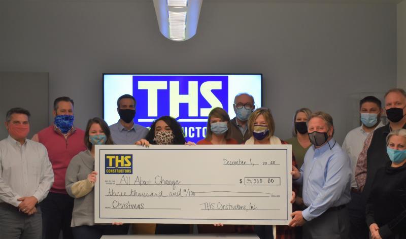 THS Makes Christmas Donation